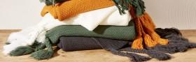 House-Home-Knitted-Tassel-Throw-127cm-x-152cm on sale