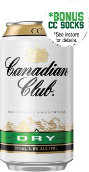 Canadian-Club-Dry-48-Premix-Cans-375mL-10-Pack on sale