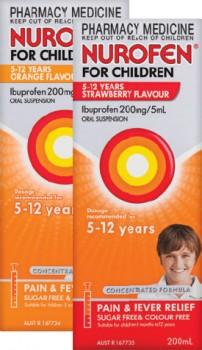 Nurofen-For-Children-5-12-Years-200mL-Range on sale