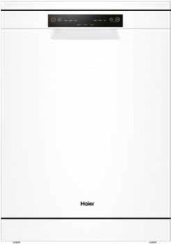 Haier-60cm-Freestanding-Dishwasher-White on sale