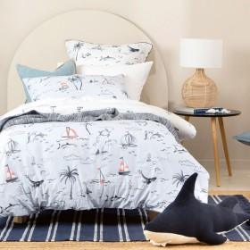 Kids-Island-Sail-Quilt-Cover-Set-by-Pillow-Talk on sale