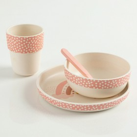 4pc-Dinnerware-Bamboo-by-Jiggle-and-Giggle on sale