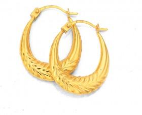 9ct-Gold-Earrings on sale
