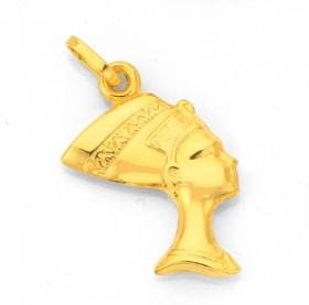 9ct-Gold-Nefertiti-Charm on sale