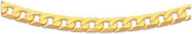 9ct-Gold-60cm-Solid-Curb-Chain on sale