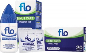 Flo-Sinus-Care-Starter-Kit-or-Sinus-Care-Refill-Pack-20-Sachets on sale