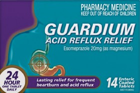 NEW-Guardium-Acid-Reflux-Relief-14-Tablets on sale