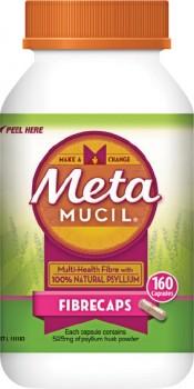 Metamucil-Fibrecaps-160-Capsules on sale