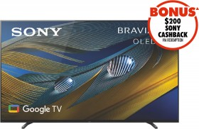 Sony-55-A80J-4K-Bravia-XR-OLED-Google-TV on sale