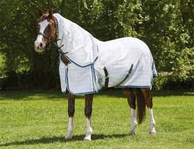 Weatherbeeta-Summer-Sheet-Cotton-Combo-Scrunch-Neck on sale