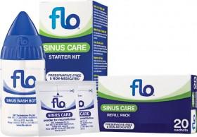 Flo-Sinus-Care-Starter-Kit-or-Refill-Pack-20-Sachets on sale