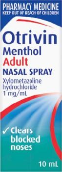 Otrivin-Menthol-Adult-Nasal-Spray-10mL on sale