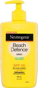 Neutrogena-Beach-Defence-Lotion-SPF-50-400mL on sale