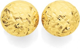 9ct-Gold-Stud-Earrings on sale