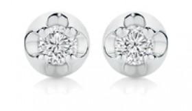 9ct-White-Gold-Diamond-Stud-Earrings on sale