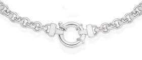 Sterling-Silver-45cm-Belcher-Necklet on sale