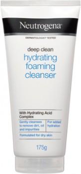 Neutrogena-Deep-Clean-Hydrating-Foaming-Cleanser-175g on sale