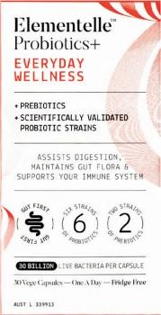 Elementelle-Probiotics-Everyday-Wellness-30-Capsules on sale