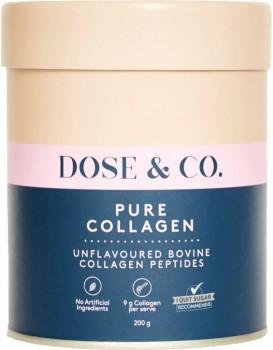 Dose-Co-Pure-Collagen-Powder-200g on sale