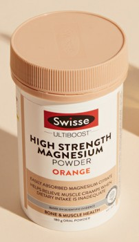 Swisse-Ultiboost-High-Strength-Magnesium-Powder-Orange-180g on sale