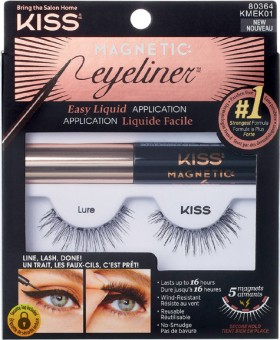 Kiss-Magnetic-Lash-And-Eyeliner-Kit-in-Lure on sale