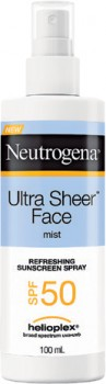 Neutrogena-Ultra-Sheer-Face-Mist-SPF-50-100mL on sale