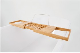 Bamboo-Bath-Caddy on sale