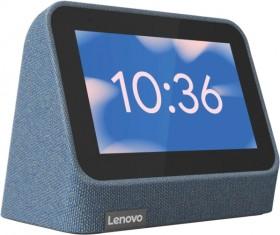 NEW-Lenovo-Smart-Clock-Gen2-Blue on sale