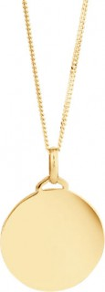 Disc-Pendant-in-10ct-Yellow-Gold on sale