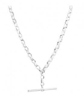 45cm-18-Belcher-Fob-Chain-in-Sterling-Silver on sale