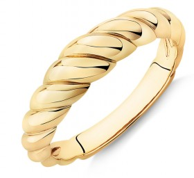 NEW-53mm-Croissant-Ring-in-10ct-Yellow-Gold on sale