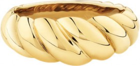 NEW-8mm-Croissant-Ring-in-10ct-Yellow-Gold on sale
