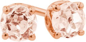 4mm-Stud-Earrings-with-Morganite-in-10ct-Rose-Gold on sale