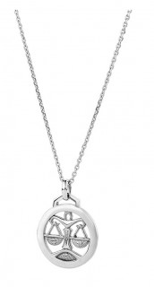NEW-Libra-Zodiac-Pendant-in-Sterling-Silver on sale