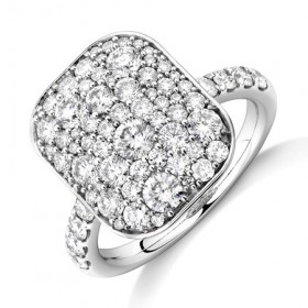 NEW-Pave-Ring-with-2-Carat-TW-of-Diamonds-in-14ct-White-Gold on sale