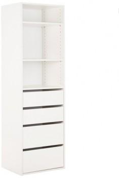Tailor-3-Shelf-4-Drawer-Storage-Unit on sale