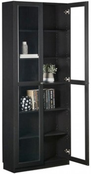 Kobi-Bookcase-Large-Wide-With-Glass-Doors on sale