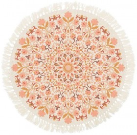NEW-Ombre-Home-Golden-Hour-Printed-Cotton-Rug-110cm on sale