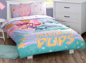 Paw-Patrol-Mighty-Pups-Pink-Quilt-Cover-Set on sale