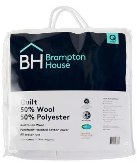 Brampton-House-50-Wool-50-Polyester-Quilt on sale