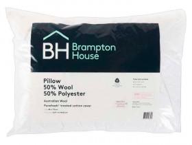 Brampton-House-50-Wool-50-Polyester-Pillow on sale