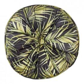 40-off-Koo-Palms-Round-Velvet-Cushion-40-x-40-x-10cm on sale