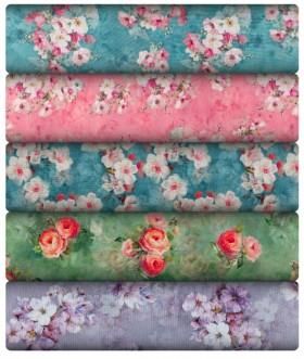 NEW-Print-Plain-Linen-Linen-Blend on sale