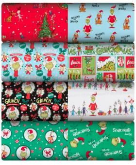 NEW-Licensed-Christmas-Fabrics on sale