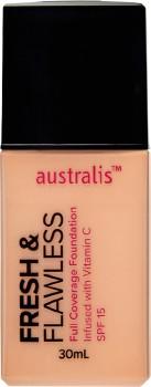 Australis-Fresh-Flawless-Foundation-30mL on sale