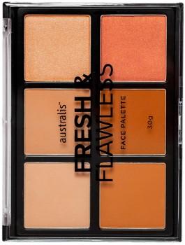 Australis-Fresh-Flawless-Face-Palette-30g on sale