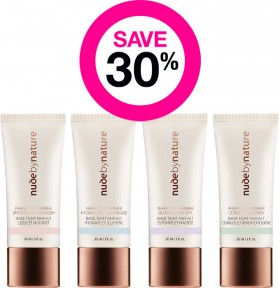 Save-30-on-Nude-by-Nature-Makeup-Range on sale