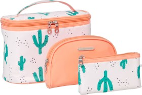 NEW-Models-Prefer-Cactus-Cosmetic-Bag-Set-3-Piece on sale