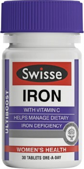 Swisse-Ultiboost-Iron-30-Tablets on sale