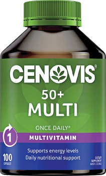 Cenovis-Once-Daily-50-Multi-100-Capsules on sale
